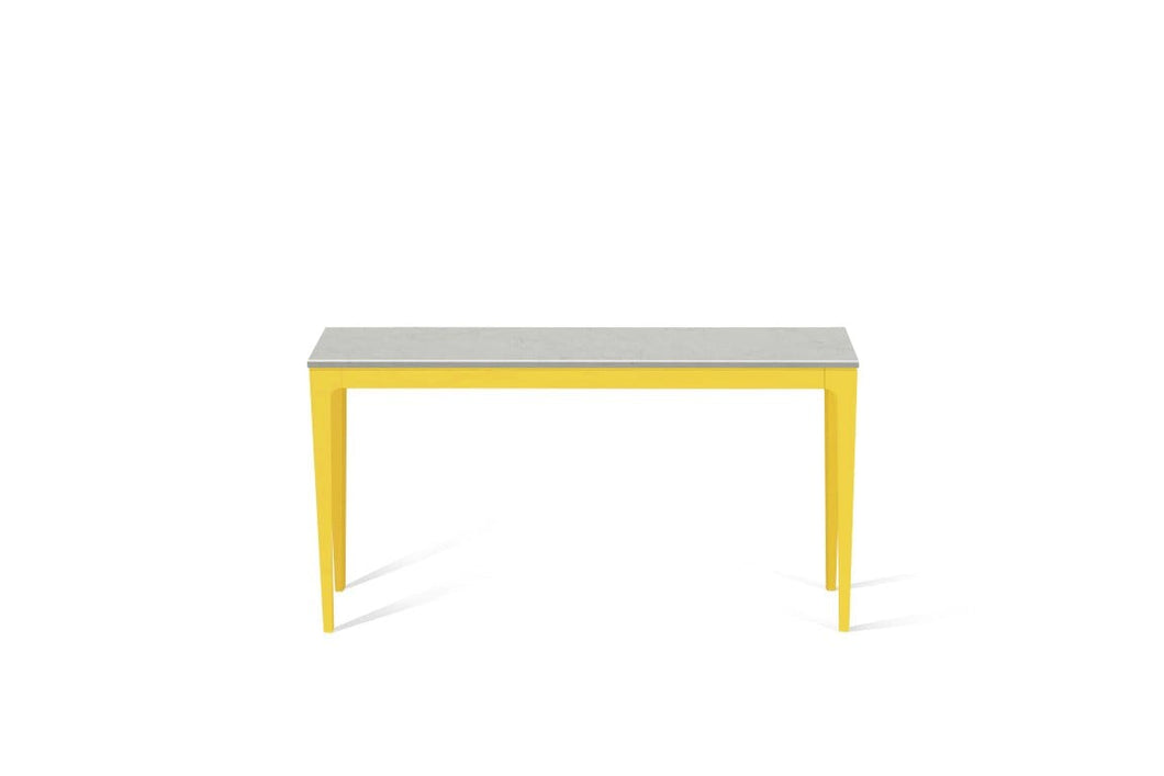 Georgian Bluffs  Slim Console Table Lemon Yellow