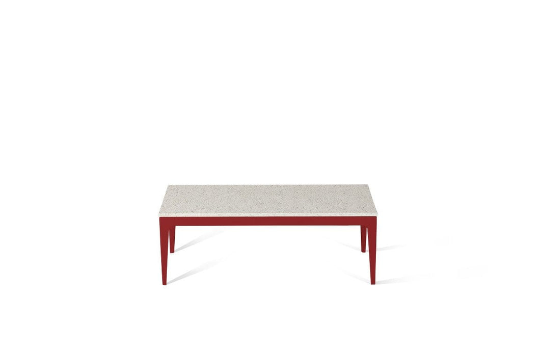 Ocean Foam Coffee Table Flame Red
