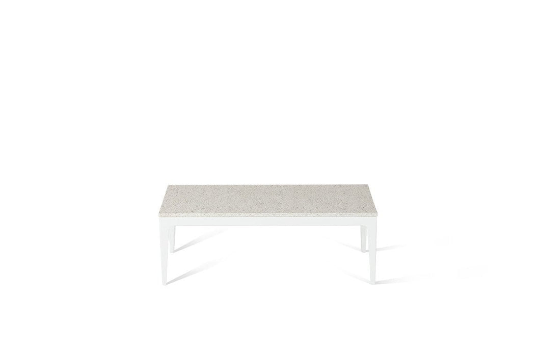 Ocean Foam Coffee Table Pearl White