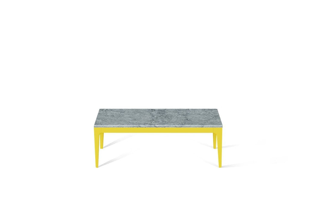 Turbine Grey Coffee Table Lemon Yellow