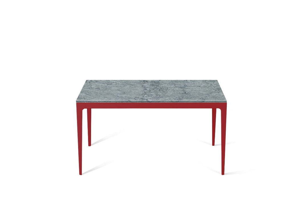 Turbine Grey Standard Dining Table Flame Red