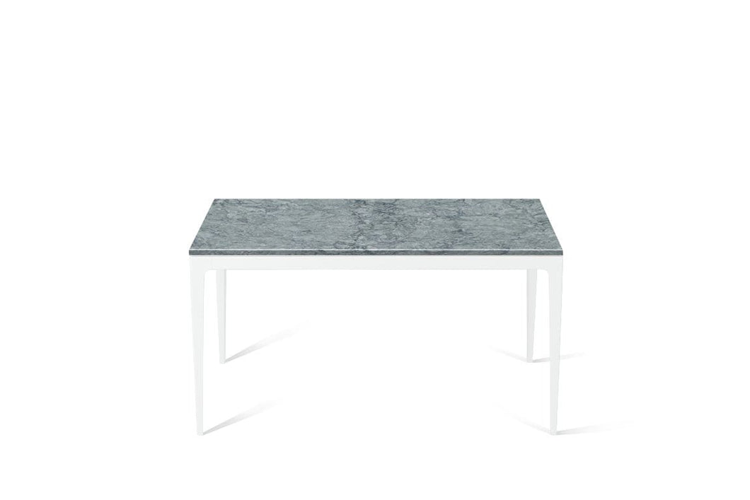 Turbine Grey Standard Dining Table Pearl White