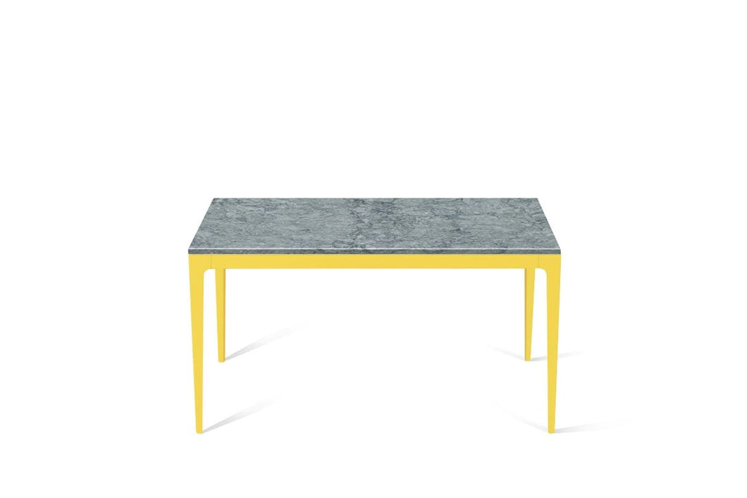 Turbine Grey Standard Dining Table Lemon Yellow