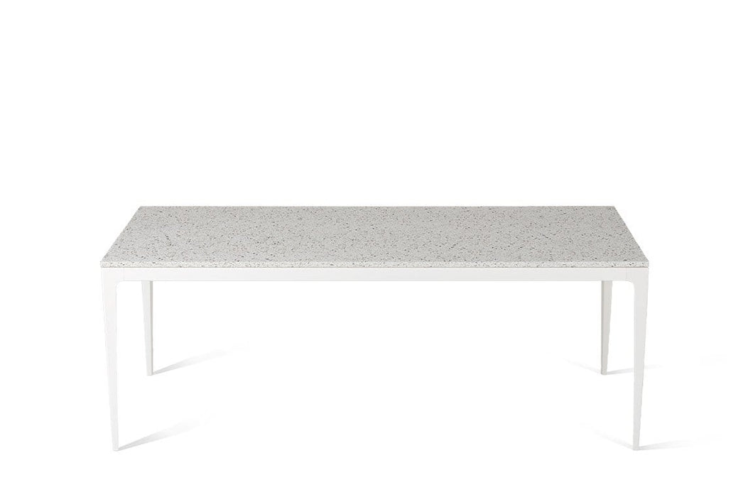 Nougat Long Dining Table Oyster