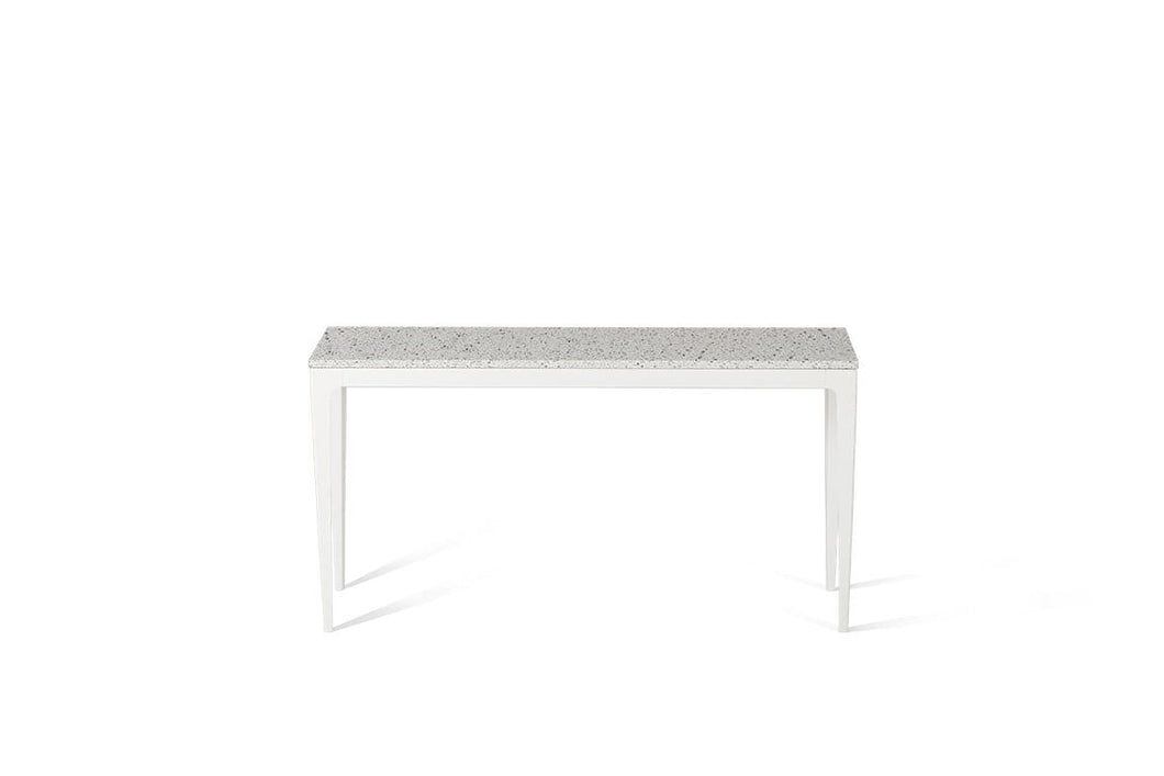 Nougat Slim Console Table Oyster