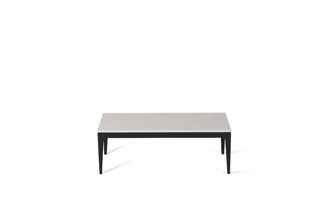 Ice Snow Coffee Table Matte Black