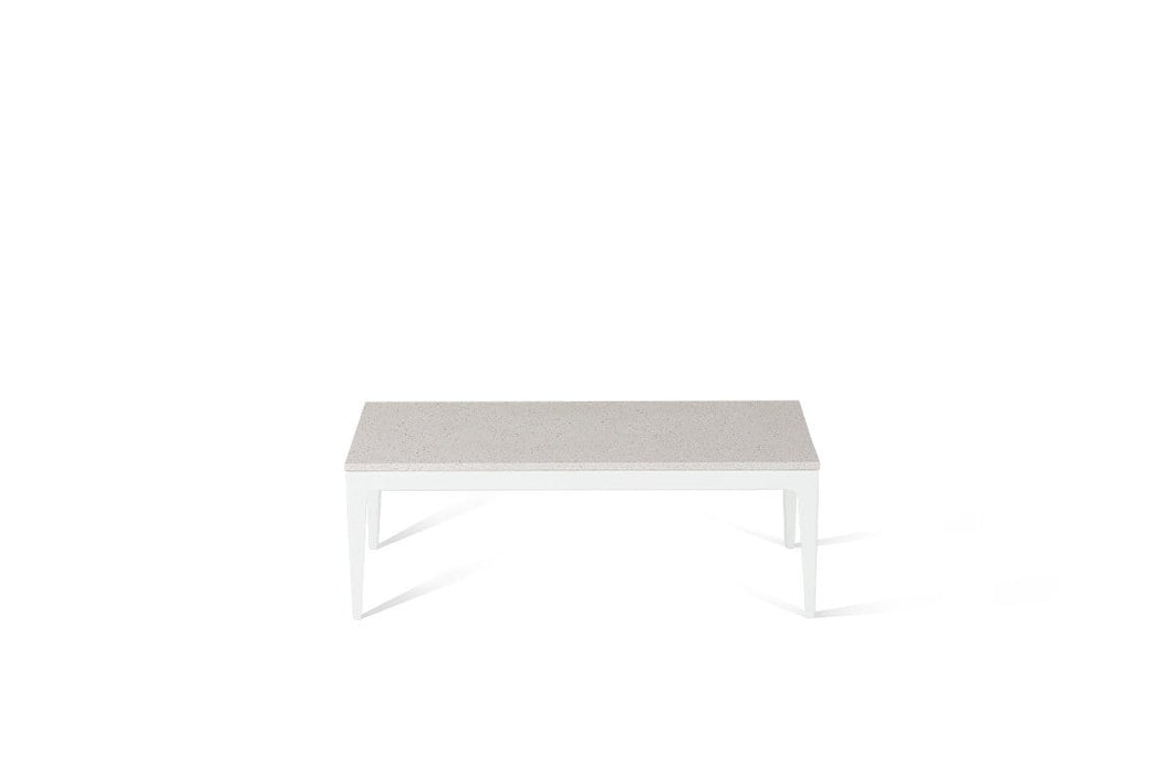 Ice Snow Coffee Table Pearl White