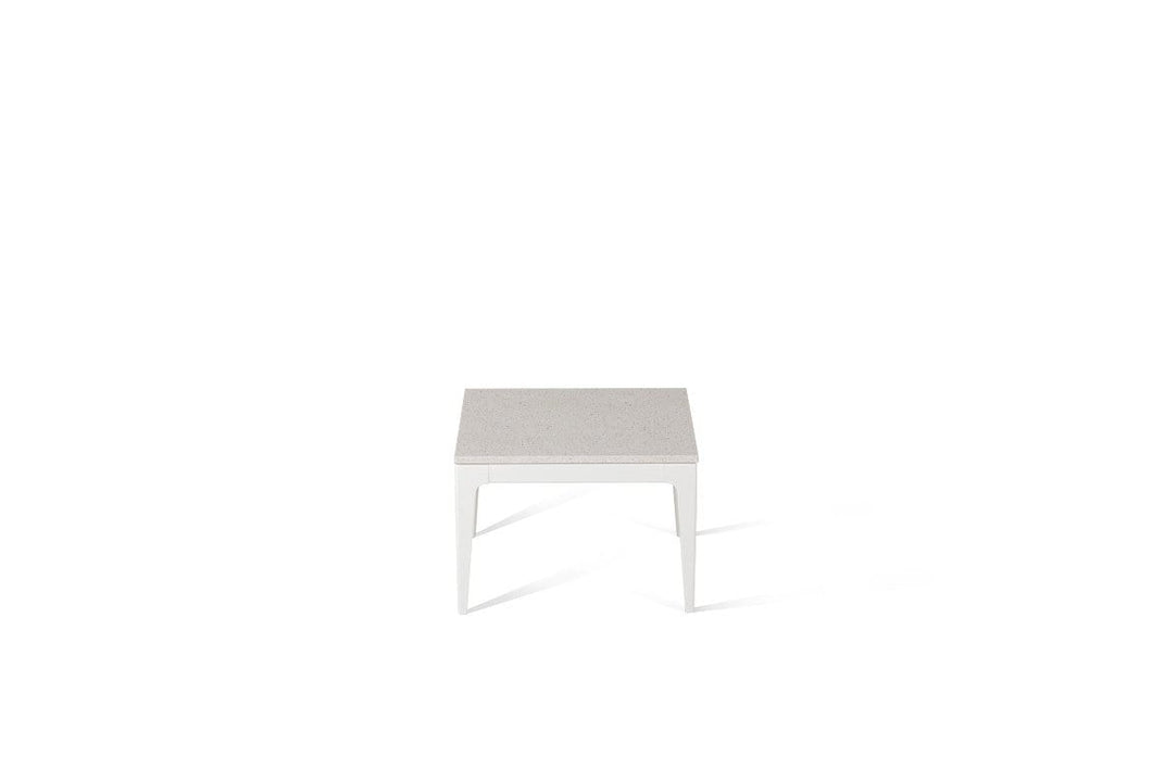 Ice Snow Cube Side Table Oyster