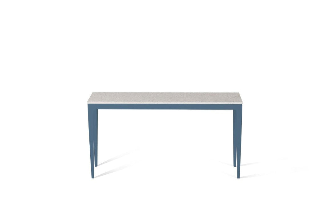 Ice Snow Slim Console Table Wedgewood