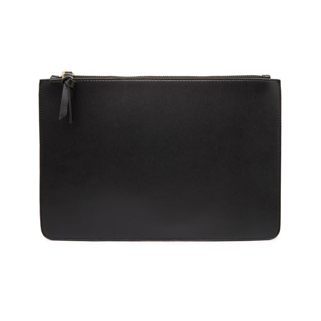 Nica Medium Slim Purse Black