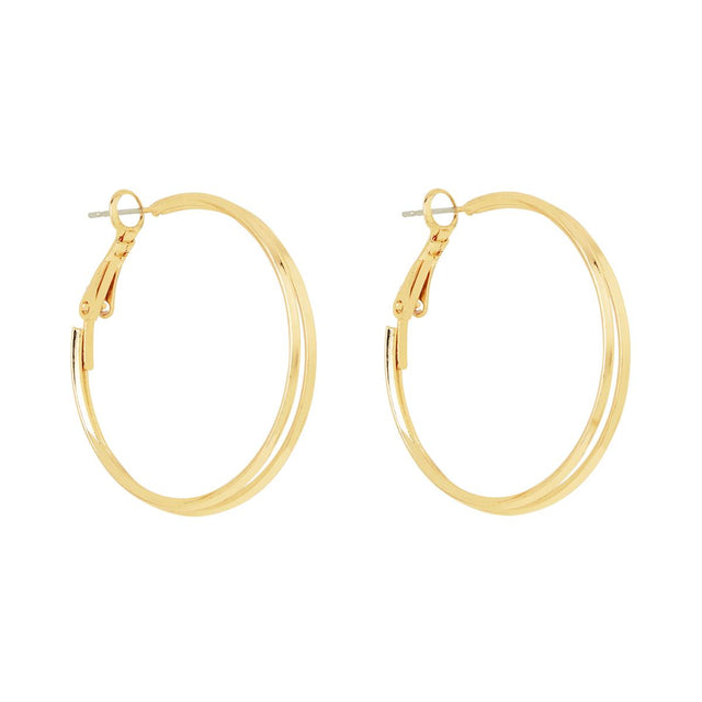 Patty Split Hoop Gold