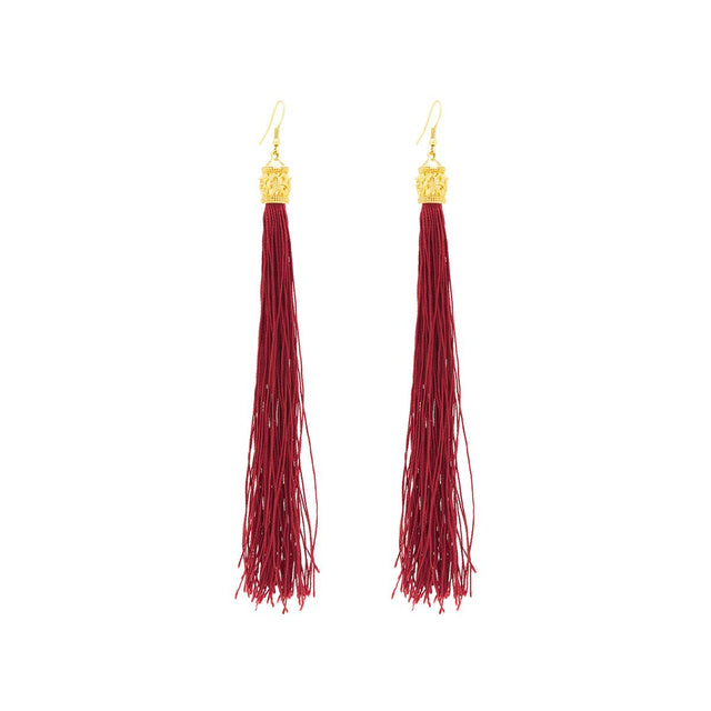 Phoenix Drop Earring Berry