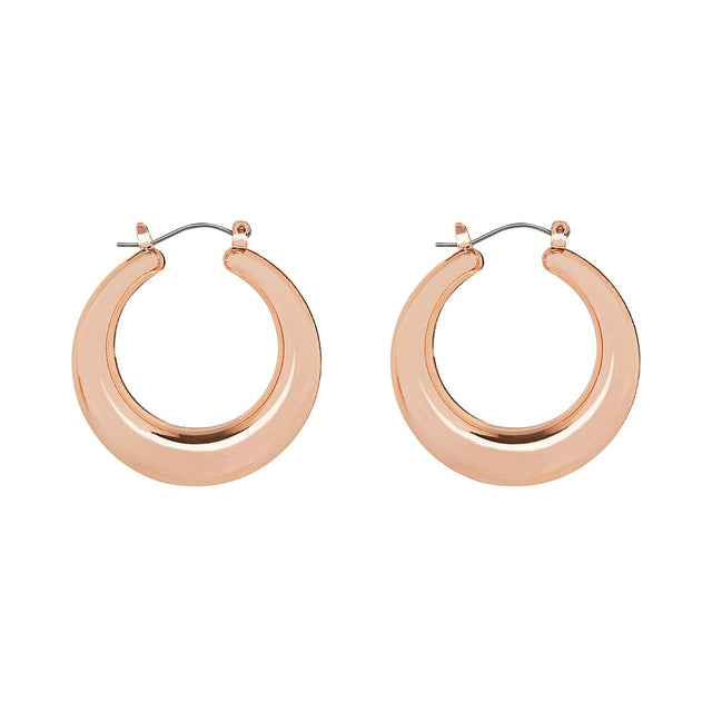Vivienne Medium Hoop Rose Gold