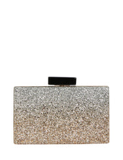 Kelby Hardcase Clutch Mixed Metal