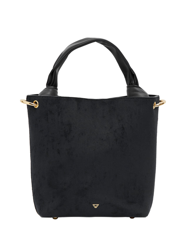 Dot Bucket Black