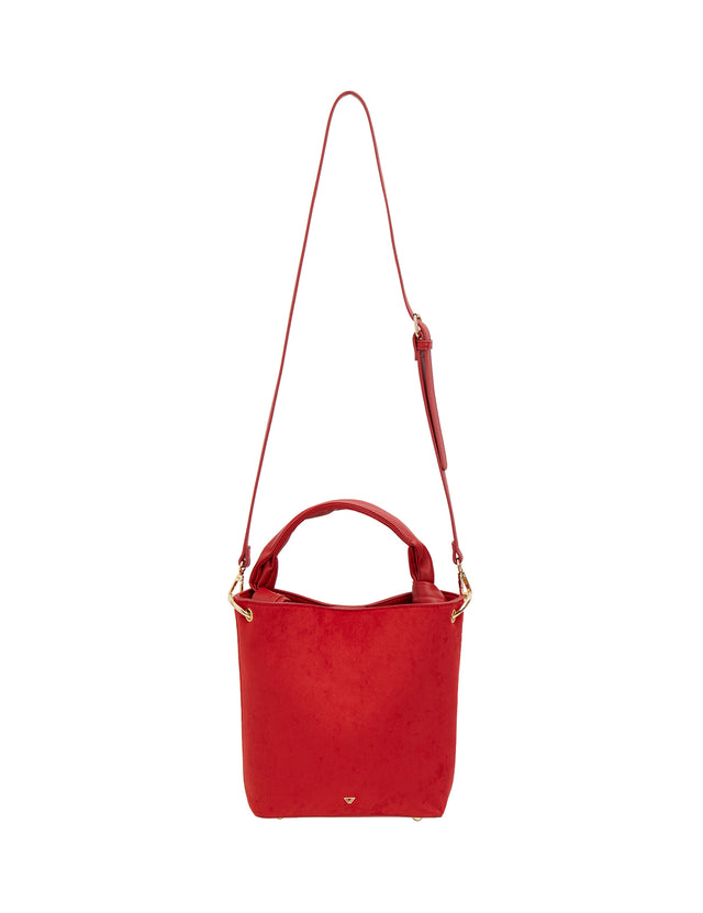 Dot  Bucket Red