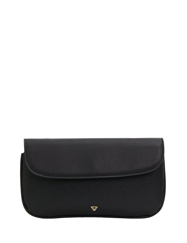 Rebel Cross body Purse Black