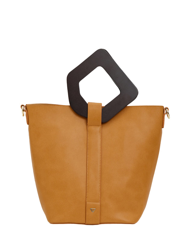Reva Bucket Tote Brown