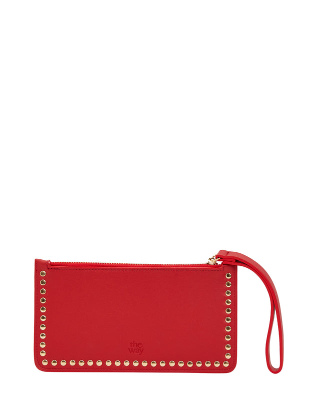 Lucy Zip Purse Berry