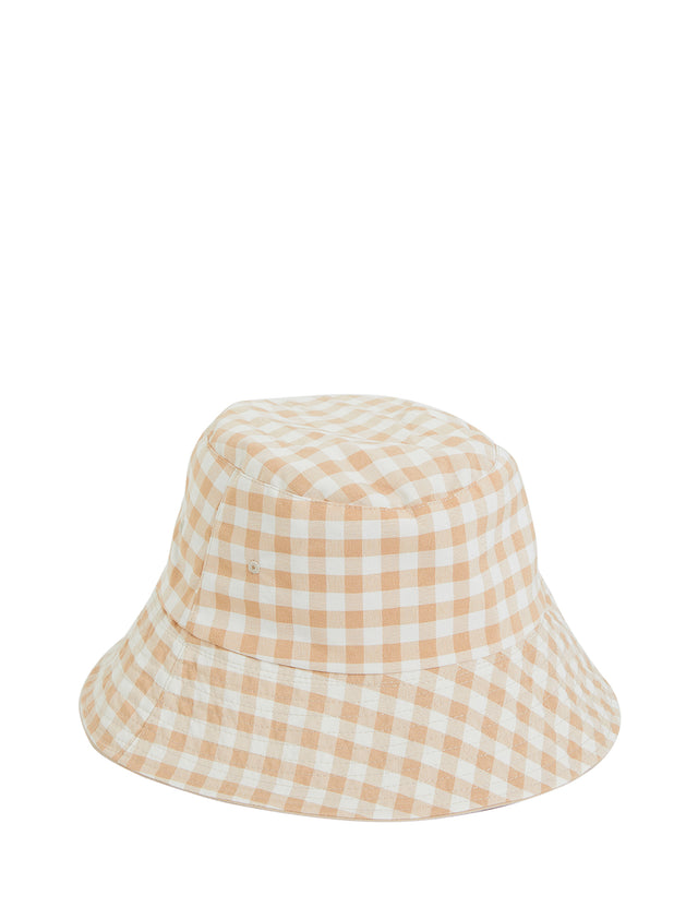 Brunswick Bucket Hat Natural