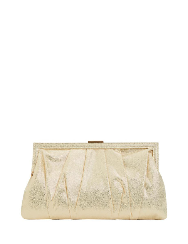 Daria Soft Clutch Gold
