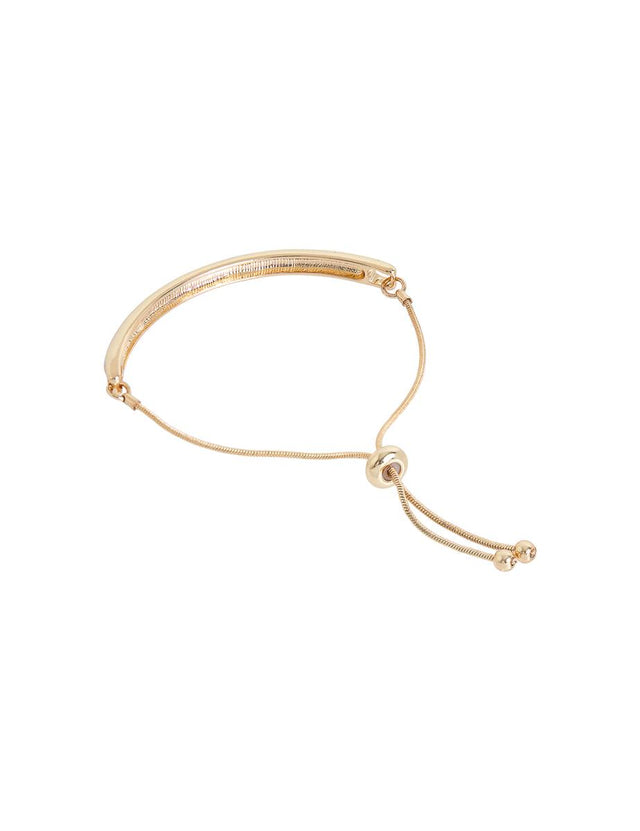 Avalon Bar Bracelet Gold