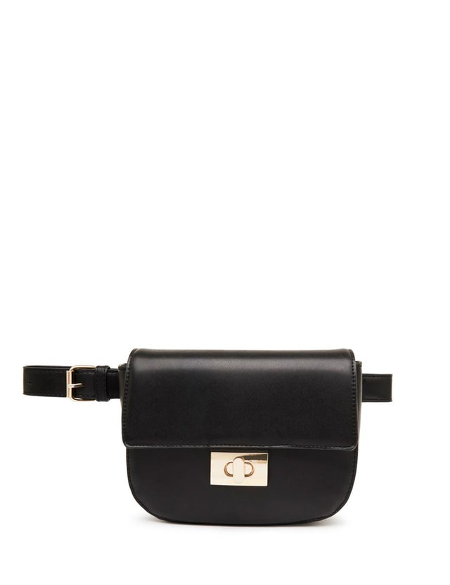 Juliana Cross Body Belt Bag Black