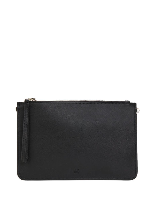 Ivy Zip Purse Black
