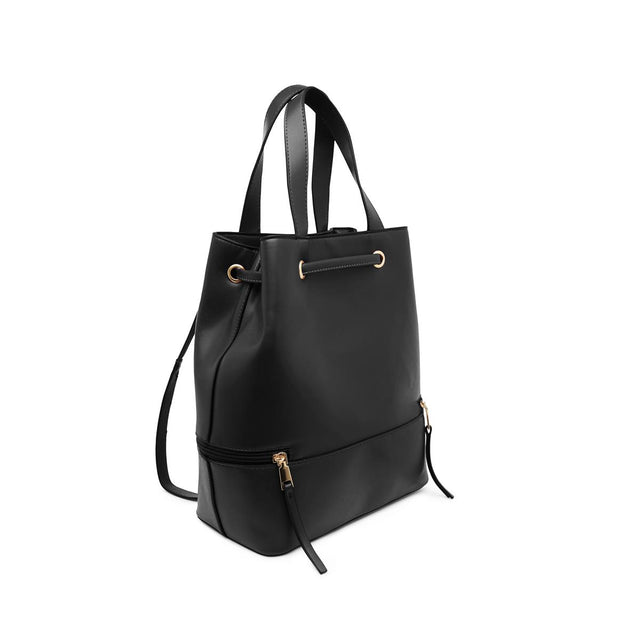 Hailey Convertible Backpack Black