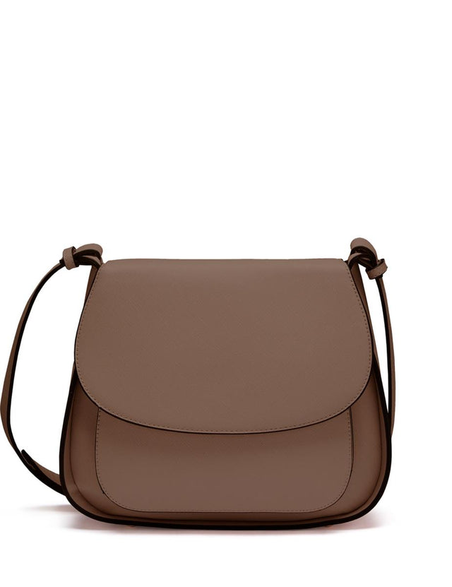 Ashley Saddle Cross Body Tan