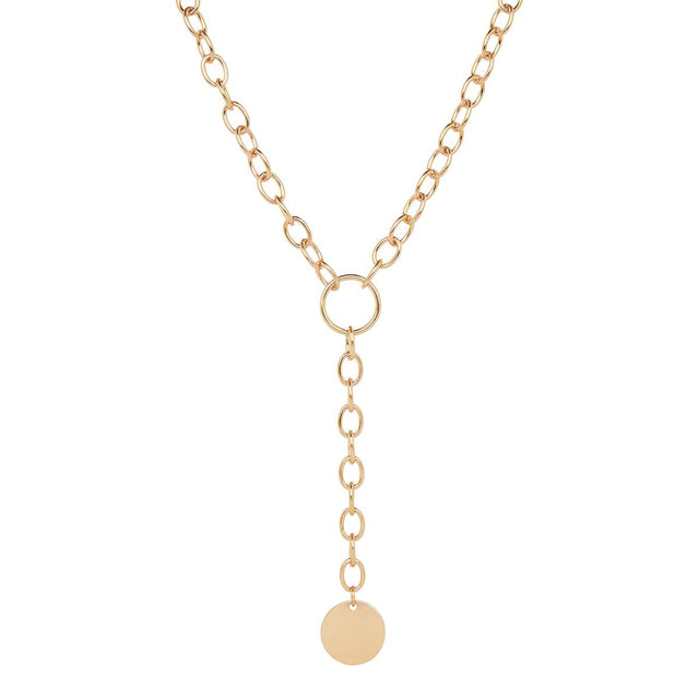 Johanna Chain Long Necklace Gold