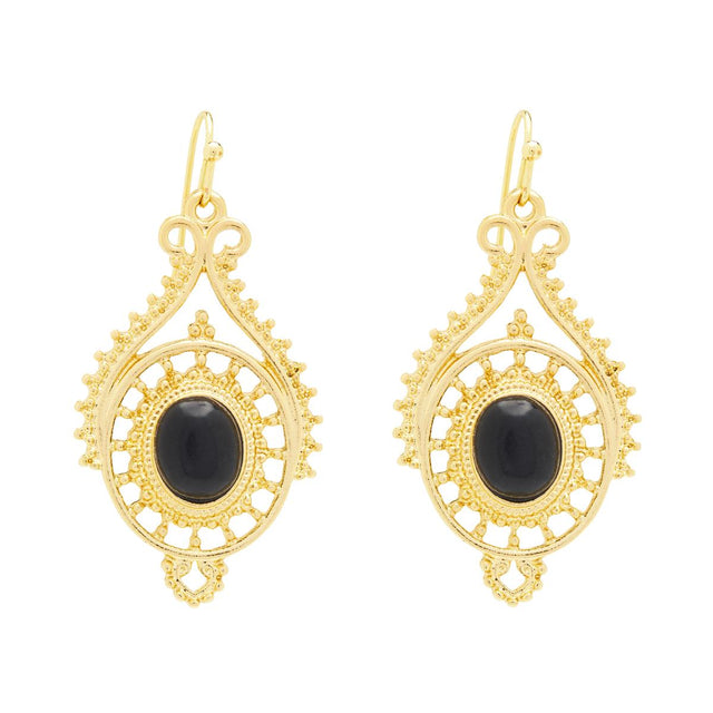 Zuri Evening Drop Black