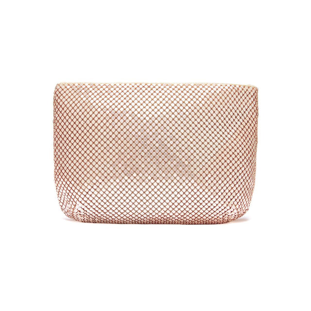 Bianca Mesh Purse Rose Gold