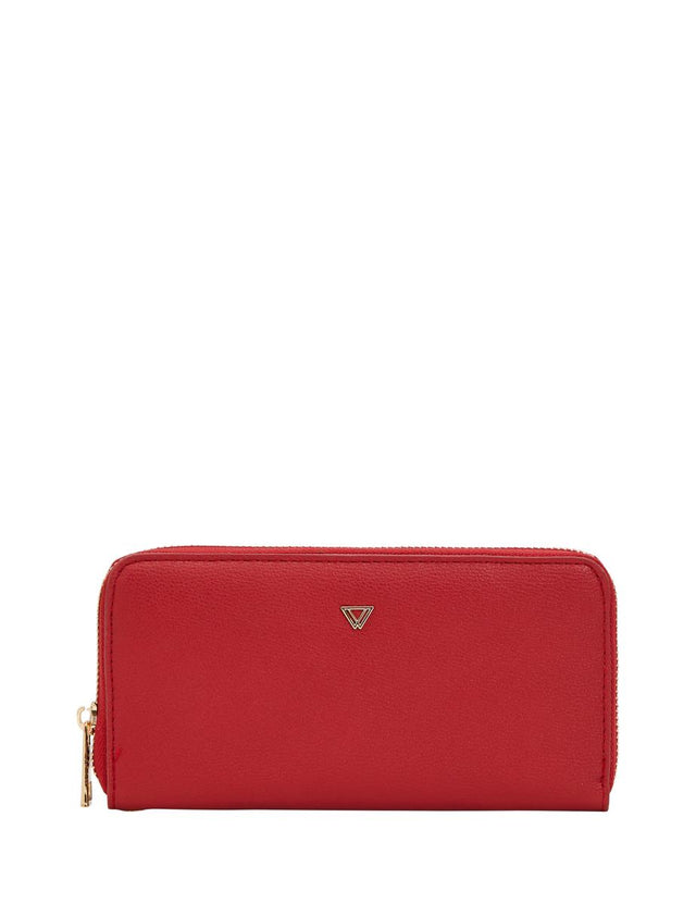 Bethany Zip Wallet Red