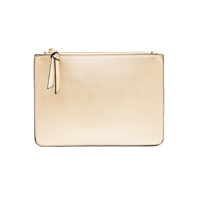 Nica Small Slim Purse - Metallic Gold