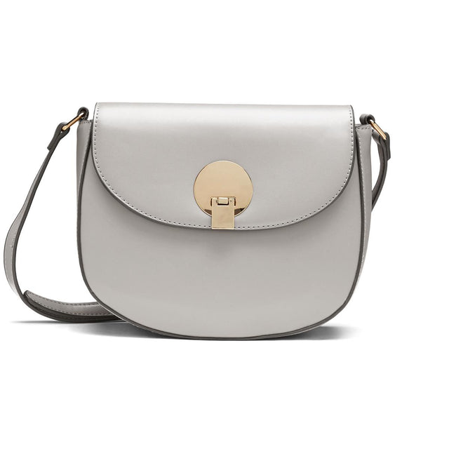 Sian Saddle Cross Body Grey