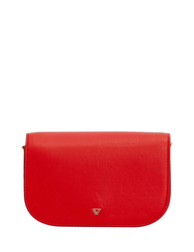 Havana Saddle Cross Body Red