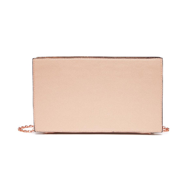 Jade Rectangle Clutch Rose Gold