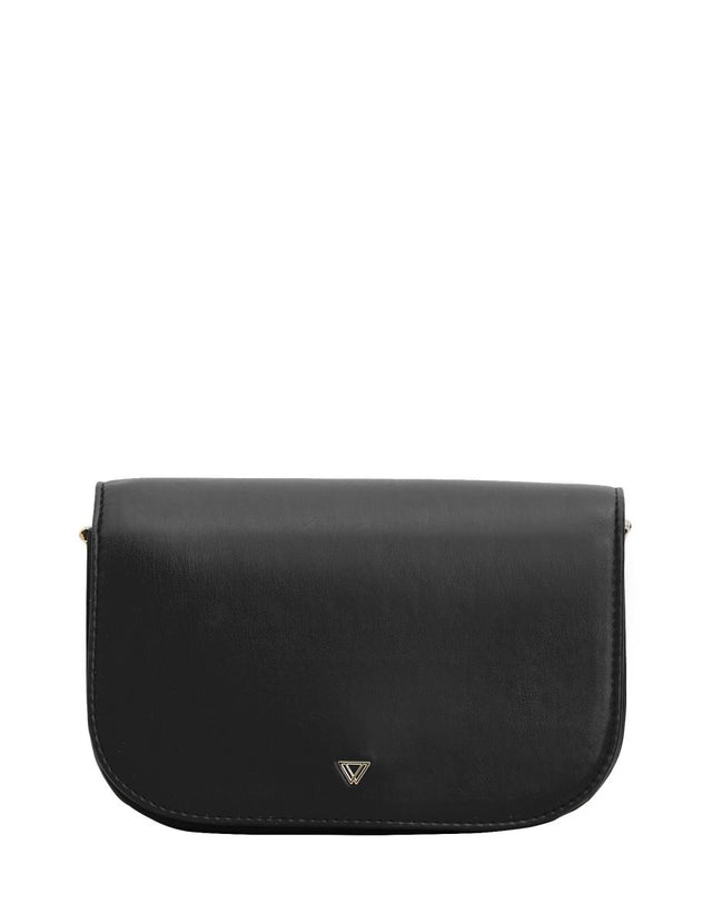 Havana Saddle Cross Body Black