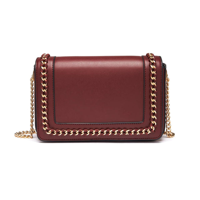 Holly Chain Cross Body Berry