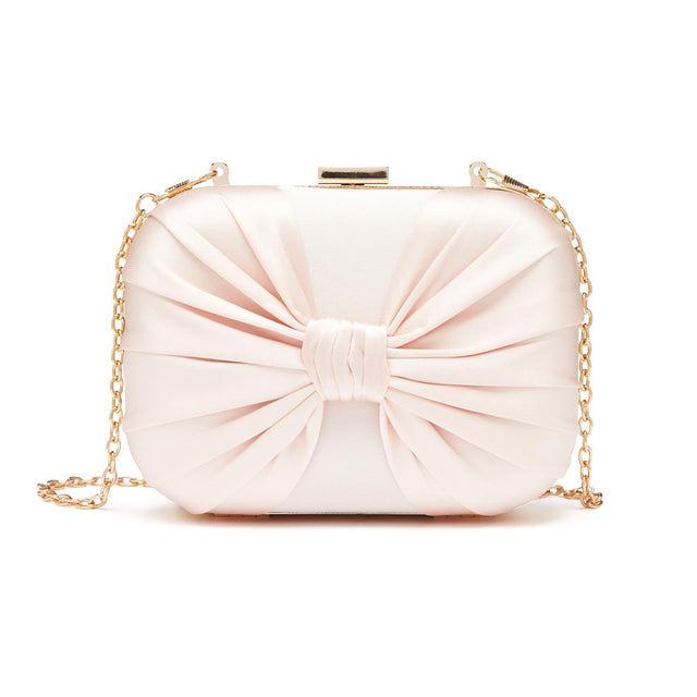Alexandra Evening Clutch Beige