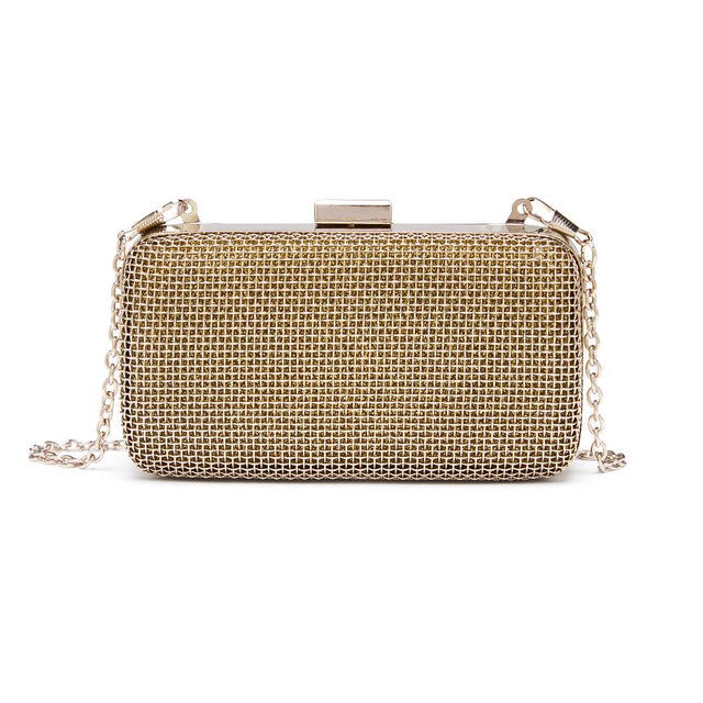Ashley Evening Clutch Silver