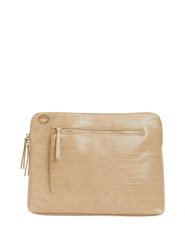 Thea Cross Body Tech Nude