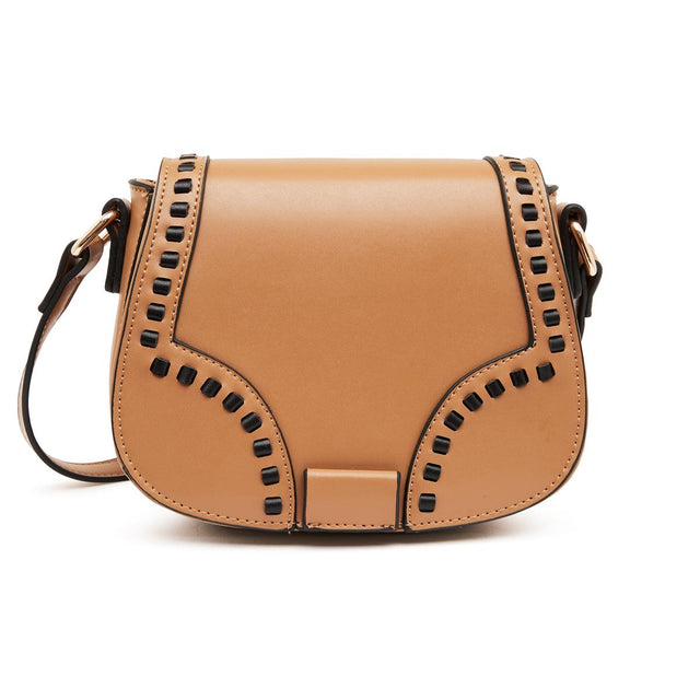 Fiona Saddle Cross Body Tan