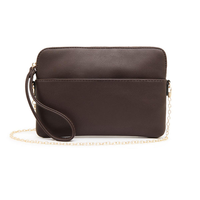 Kendall Zip Purse - Chocolate