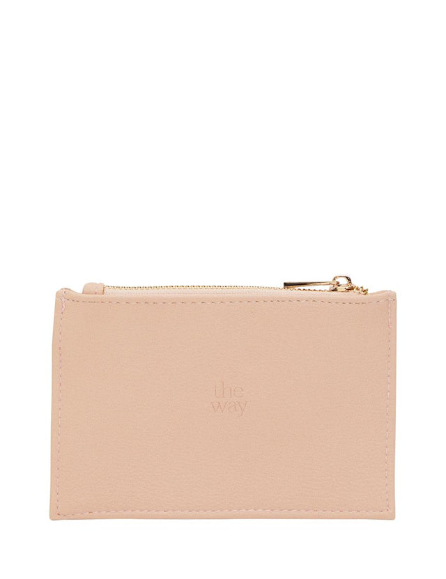 Josie Mini Card Wallet Pink