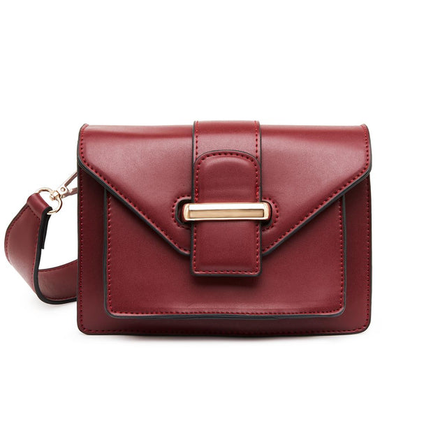 Amy Small Crossbody Bag - Berry