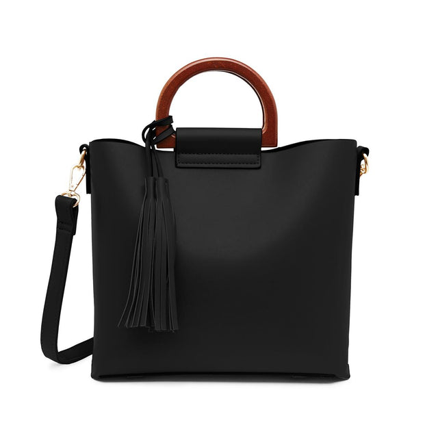 Alexa Medium Tote Black