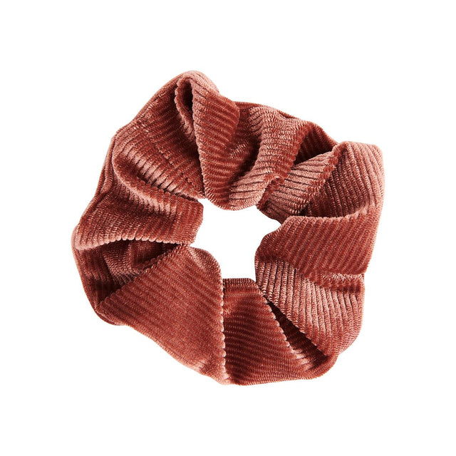 Maria Velour Scrunchie Pink