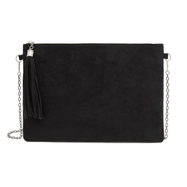 Tara Slim Purse Black
